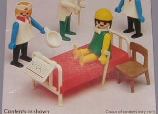 Playmobil - 1741v2-pla - Doctors and Nurses Basic Set