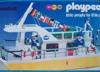 Playmobil - 1798-pla - Houseboat