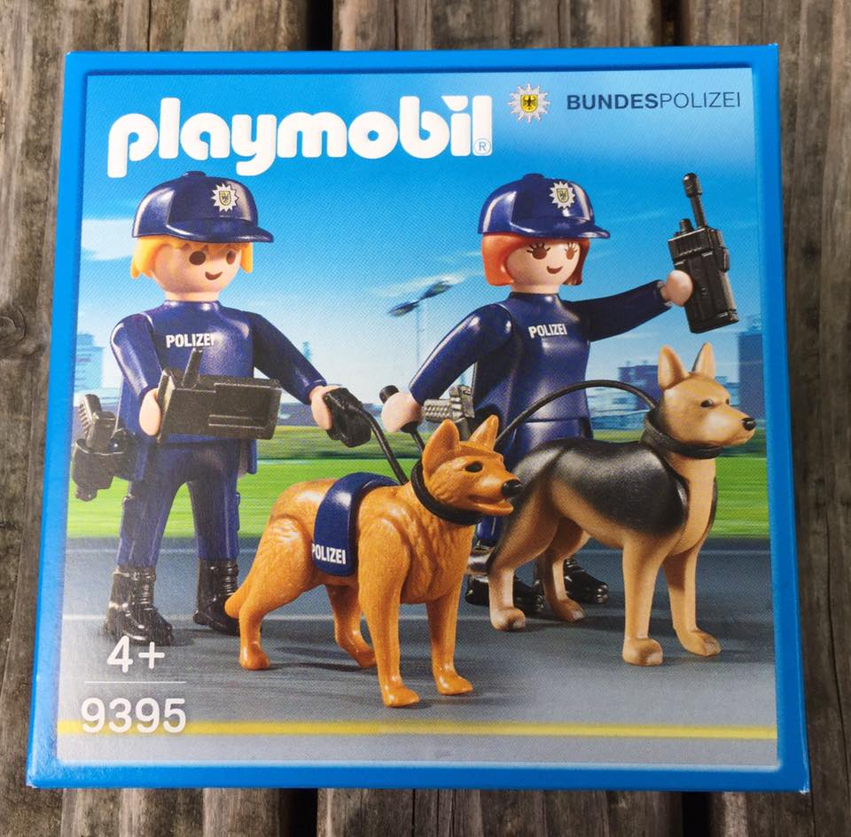 Playmobil 9395-ger - Bundespolizei Set - Box