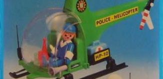 Playmobil - 23.70.1-trol - Police helicopter