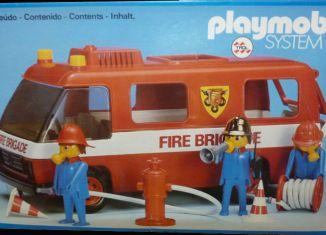 Playmobil - 23.70.7-trol - Fire Brigade