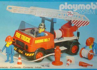Playmobil - 23.70.6-trol - Camion de pompiers