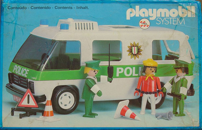 Playmobil 23.70.8-trol - Police Van - Box