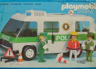 Playmobil - 23.70.8-trol - Police Van