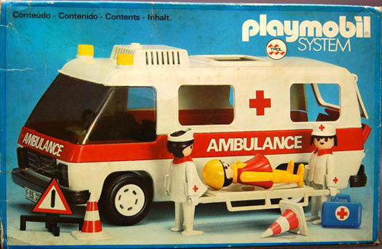 Playmobil 23.70.9-trol - Ambulance - Box