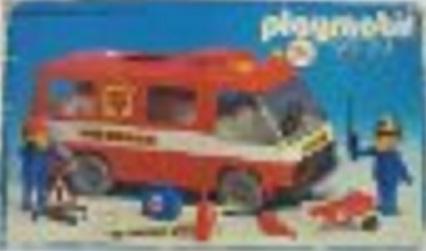Playmobil 23.71.0-trol - Feuerwehrbus - Box