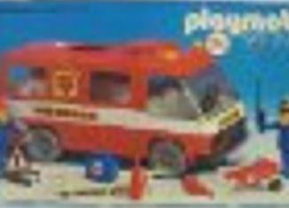 Playmobil - 23.71.0-trol - Feuerwehrbus