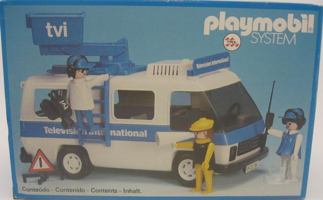 Playmobil 23.71.1-trol - Television International Van - Box