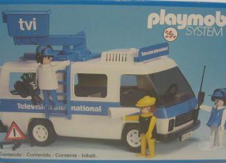 Playmobil - 23.71.1-trol - Television International Van