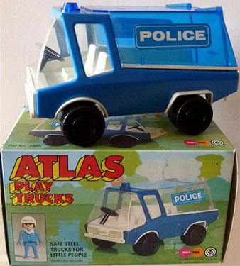 Playmobil 2405-pla - Atlas Play Trucks - Police Truck - Box