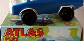 Playmobil - 2405-pla - Atlas Play Trucks - Police Truck