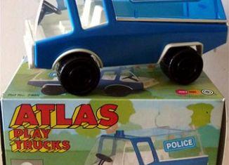 Playmobil - 2405-pla - Atlas Play Trucks - Police Truck