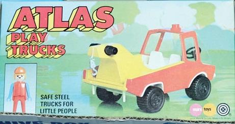 Playmobil 2407-pla - Atlas Play Trucks - Crane Truck - Box