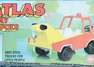 Playmobil - 2407-pla - Atlas Play Trucks - Crane Truck