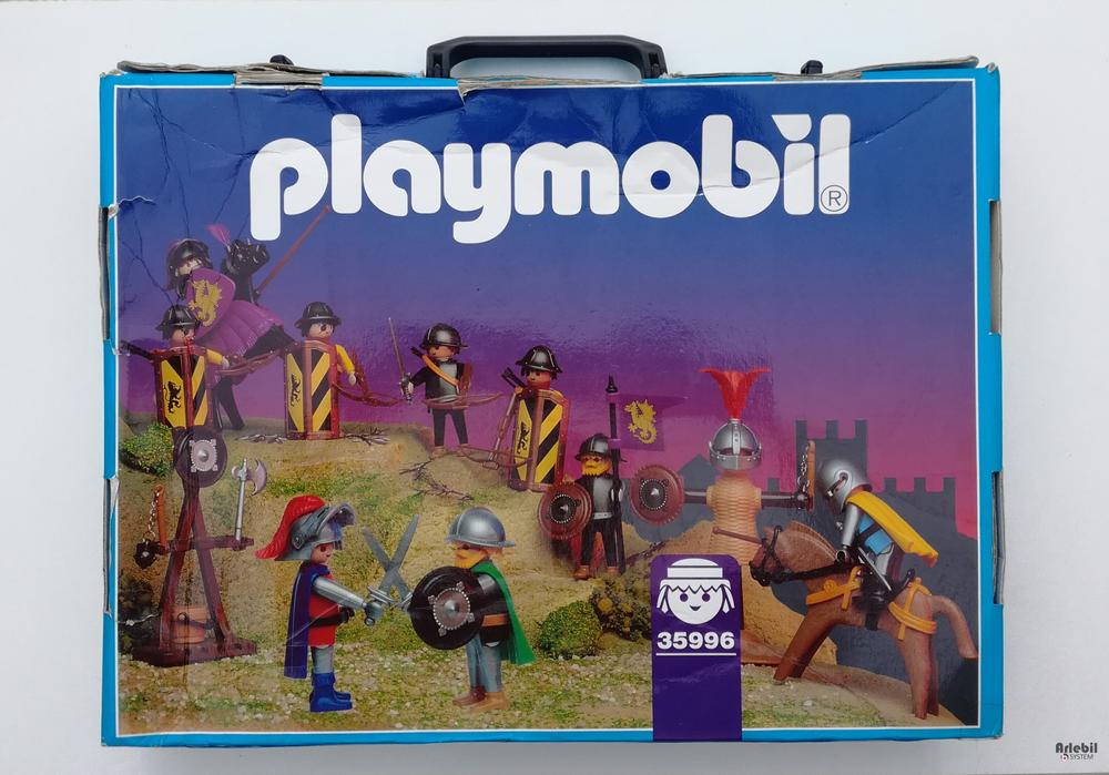 Playmobil 35996-fra - Medieval case - Box