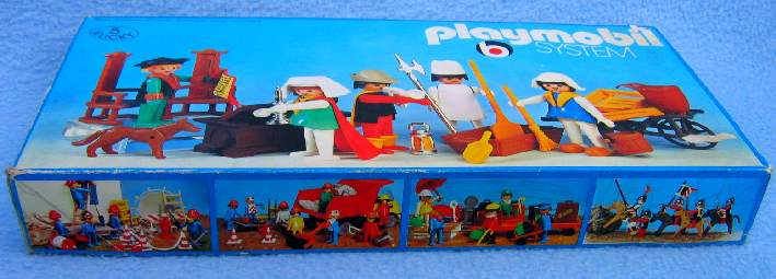 Playmobil 3221 - Royal attendants - Box