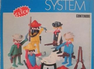 Playmobil - 3241v2-fam - Cowboys and Mexicans