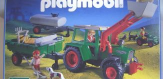 Playmobil - 3276-ger - Traktor With Wagons