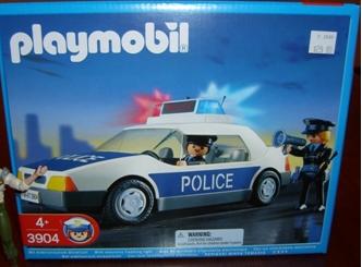 Playmobil 3904v2 - Police Car - Box