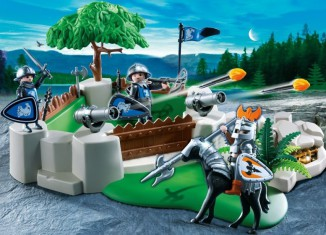 Playmobil - Fort With Hidden Treasure Crypt