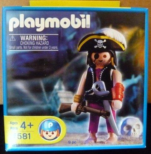 Playmobil 4581-usa - pirate with skull - Box