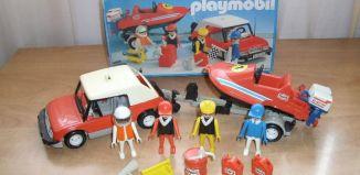 Playmobil - 3135s2 - Speedboat + car