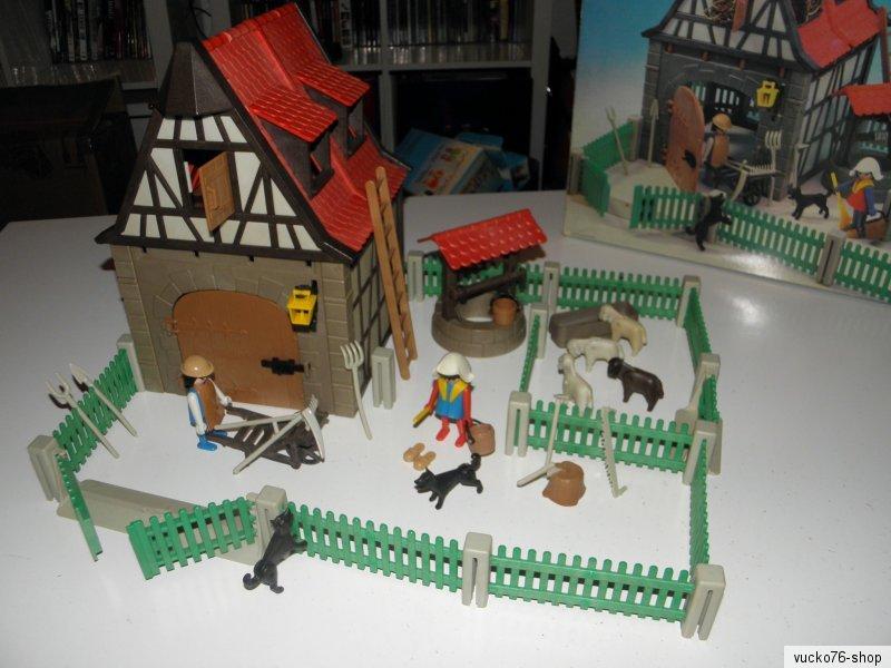 Playmobil 3193v2 - Farm - Back