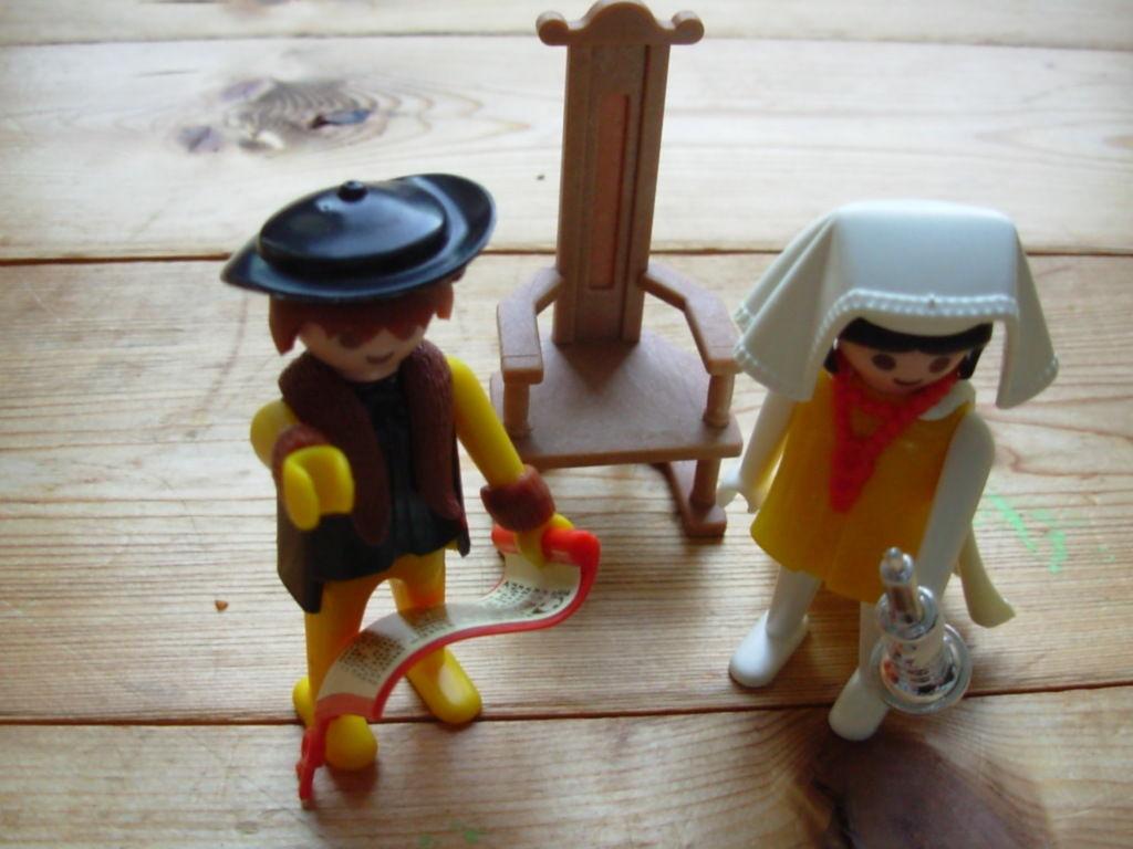Playmobil 3168 - count/countess - Back