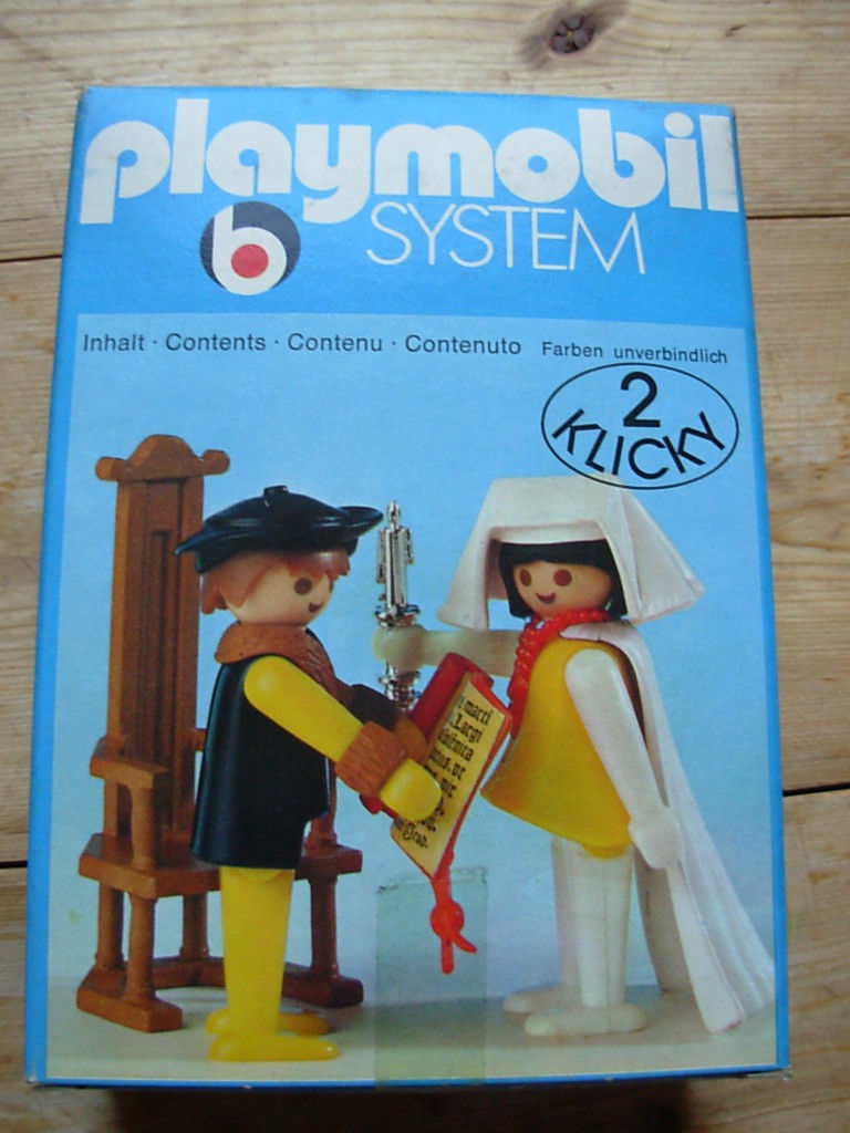 Playmobil 3168 - count/countess - Box