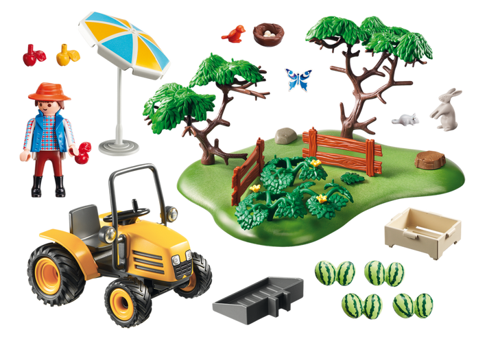 Playmobil 6870 - Orchard Harvest - Back