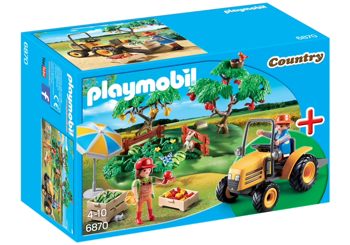 Playmobil 6870 - Orchard Harvest - Box
