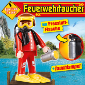 Playmobil 80593-ger - Playmobil Magazin 6/2017 (Heft 55) - Back