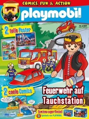 Playmobil 80593-ger - Playmobil Magazin 6/2017 (Heft 55) - Box