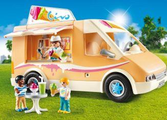 Playmobil - 9114-usa - Ice Cream Truck