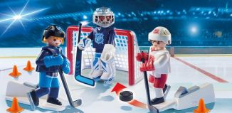 Playmobil - 9177-usa - NHL™ Shootout Carry Case