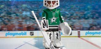 Playmobil - 9181-usa - NHL® Dallas Stars™ Goalie
