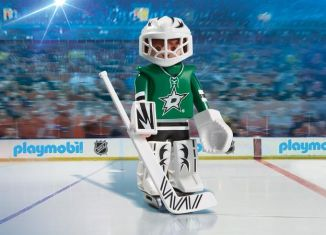 Playmobil - 9181-usa - NHL® Dallas Stars™ Goalie