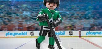 Playmobil - 9182-usa - NHL® Dallas Stars™ Player