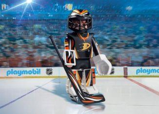 Playmobil - 9187-usa - NHL® Anaheim Ducks® Goalie