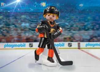 Playmobil - 9188-usa - NHL® Anaheim Ducks® Player