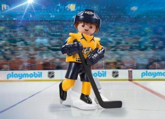Playmobil - 9196-usa - NHL® Nashville Predators® Player