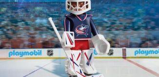 Playmobil - 9201-usa - NHL® Columbus Blue Jackets® Goalie
