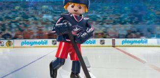 Playmobil - 9202-usa - NHL® Columbus Blue Jackets® Player