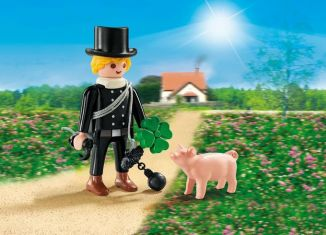 Playmobil - 9296 - Chimney sweep with lucky pig
