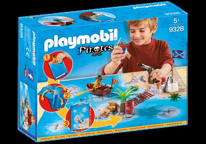 Playmobil 9328 - Play Map Piraten - Box