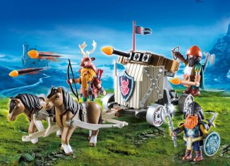 Playmobil - 9341 - Pony Harness with Dwarf Ballista