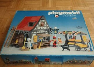 Playmobil - 3183 - Backery + market stand