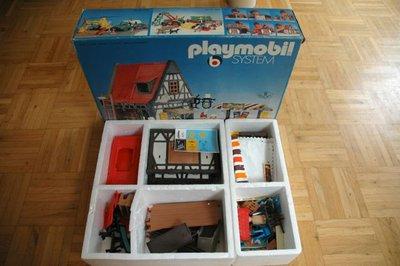 Playmobil 3183 - Backery + market stand - Back