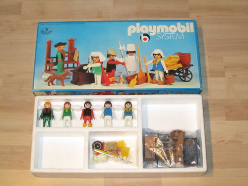 Playmobil 3221 - Royal attendants - Back