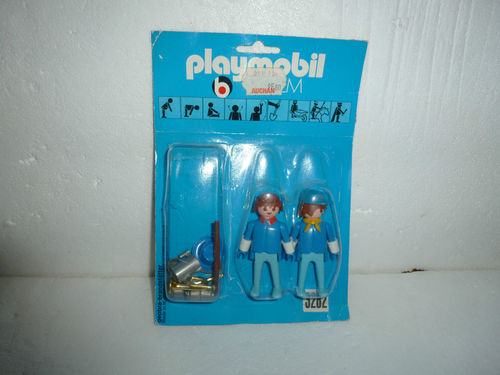 Playmobil 3282 - US soldiers - Back
